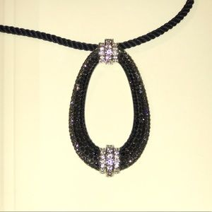 Swarovski pendant with cord chain from the dealer
